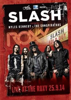 slash live at the roxy 2014 cover