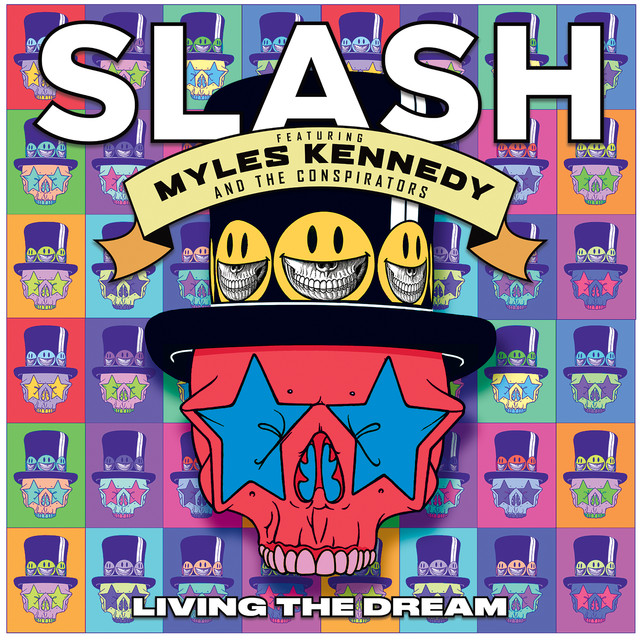 Pochette Living The Dream de Slash et Myles Kennedy