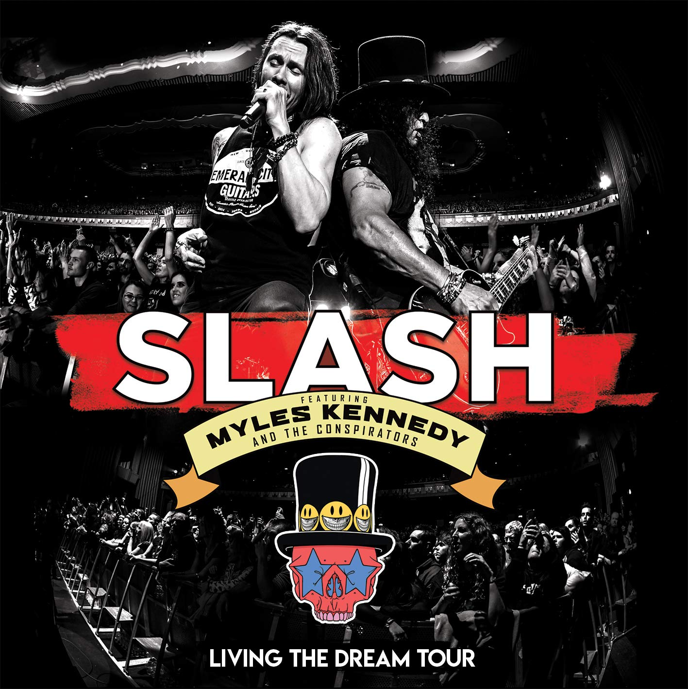 Slash france living the dream tour cd dvd blu ray lp septembre 2019 smkc
