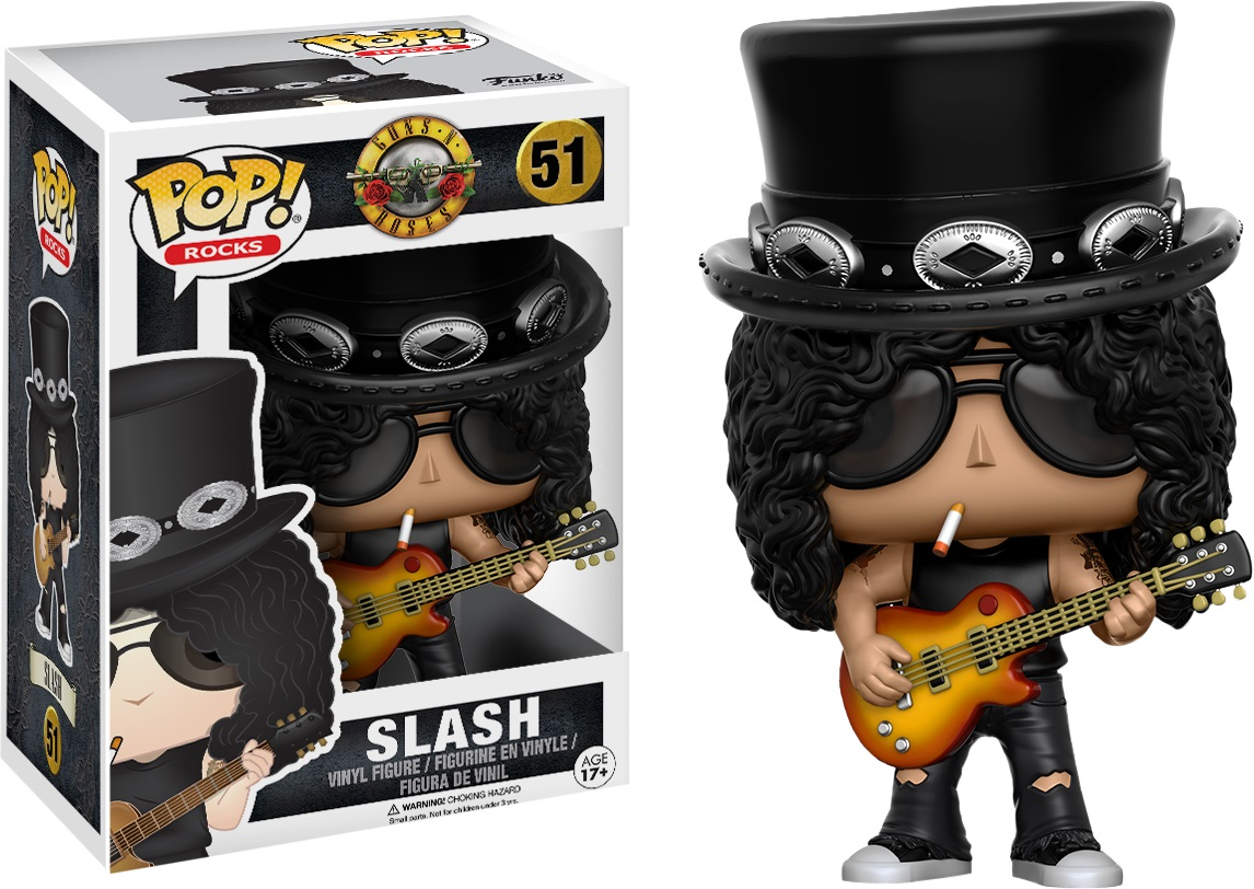 Slash france funko pop figurine 2016
