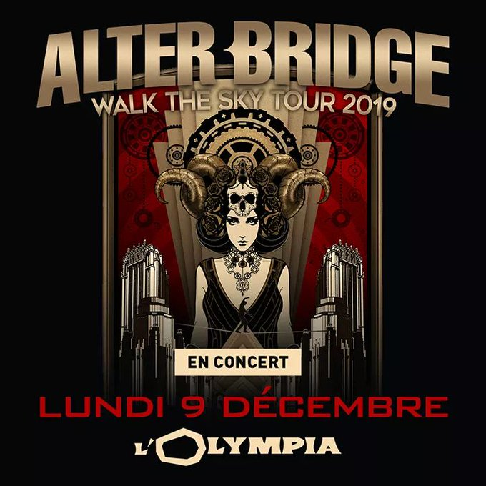 slash france alterbridge 2019 walk the sky olympia tour