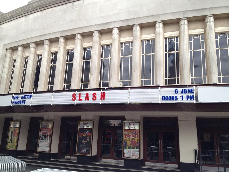 Slash france hammersmith apollo 2012 London
