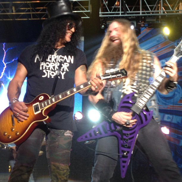 It is an image of Fabulous Black Label Society Setlist 2020