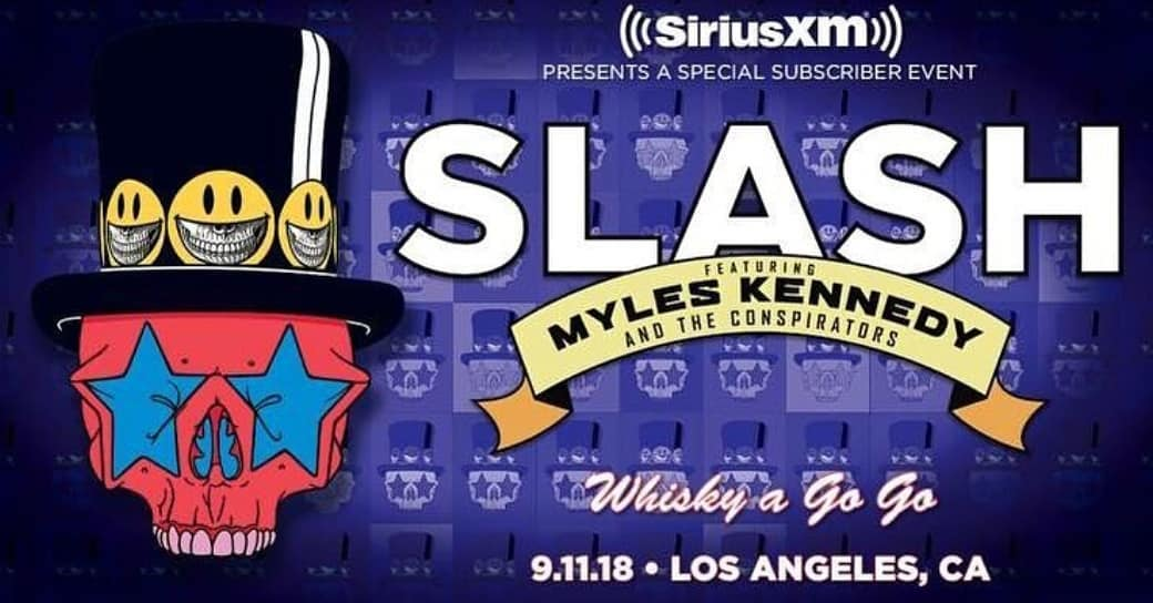 slash france sirius xm living the dream whisky a gogo
