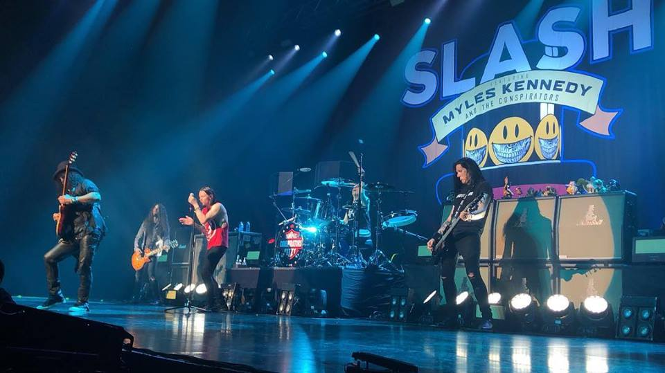 Slash france seoul south korea coree du sud smkc kennedy myles conspirators yes live 24 janvier 2019