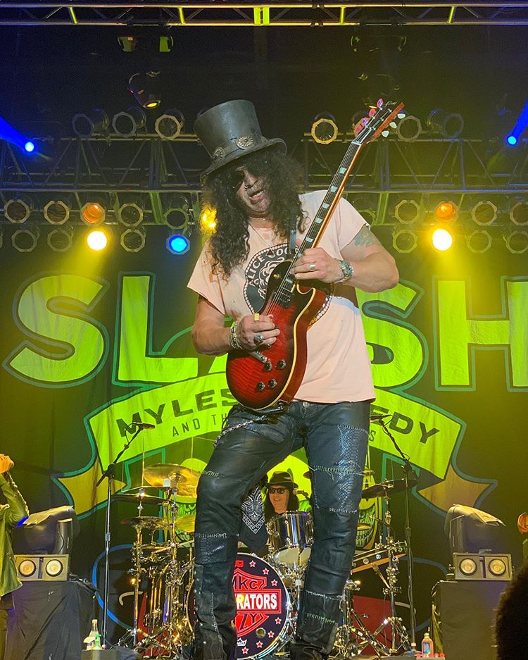 Slash france northfiel usa living the dream conspirators myles kennedy smkc kerns 2016
