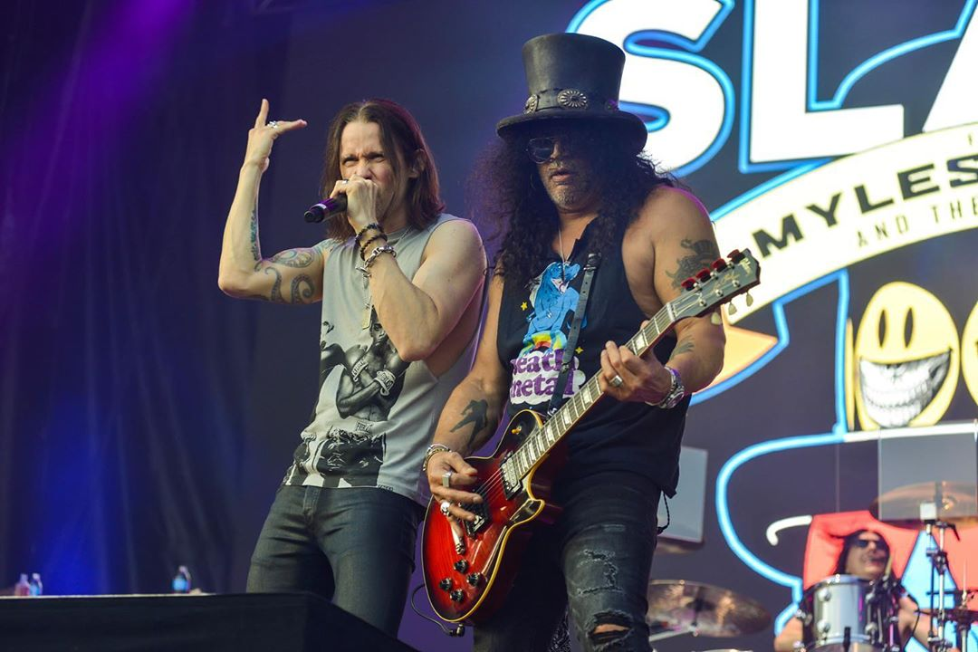 Slash france lollapalooza smkc chicago conspirators 2019 living the dream
