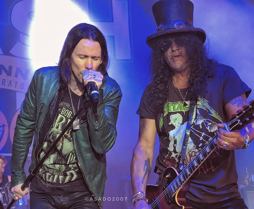Slash france smkc fort wayne sweetwater living the dream tour conspirators kennedy kerns