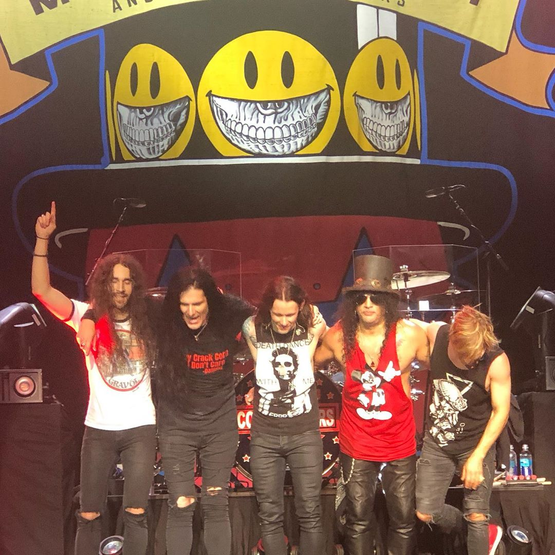 Slash france 2019 smkc orlando hard rock living the dream kennedy kerns gaalaas