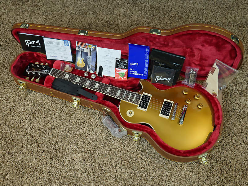 Slash france gibson signature 2020 collection goldtop us