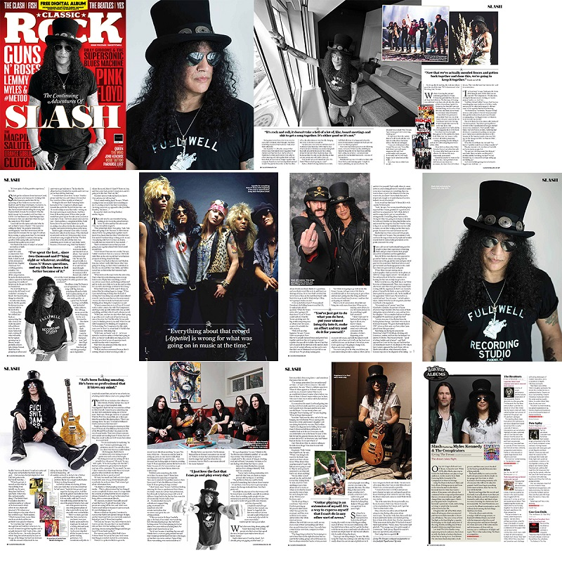Slash france Classic Rock 2018 interview bordeaux guns n' roses living the dream smkc conspirators