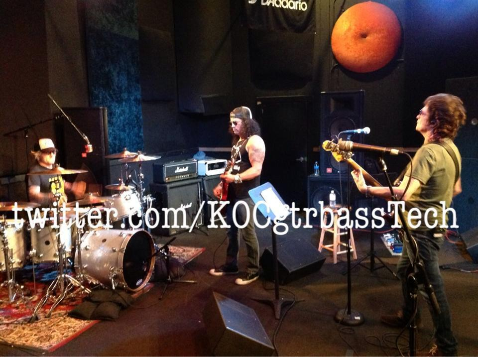 Slash france Mark rojas kings of chaos rehearsals 2013