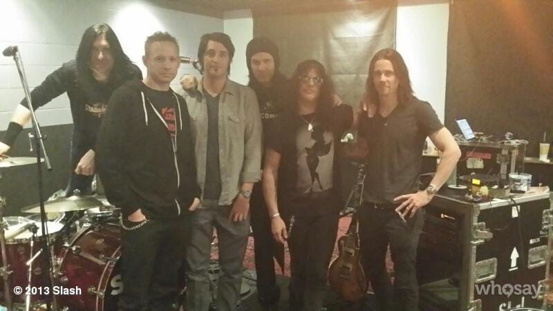 Slash france myles 2014 recording recording