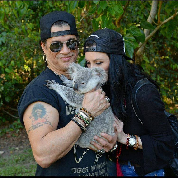 Slash france meegan australian zoo brisbane koala