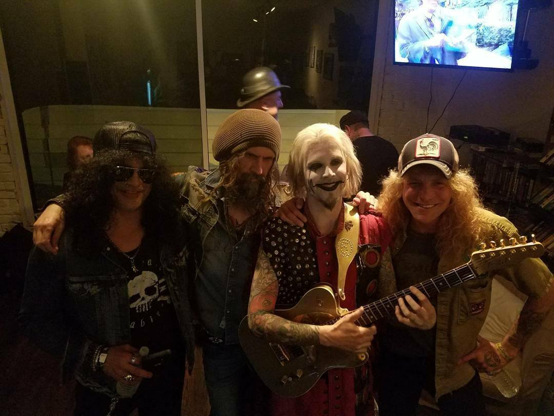 Slash france rob zombie john 5 steven adler whisky