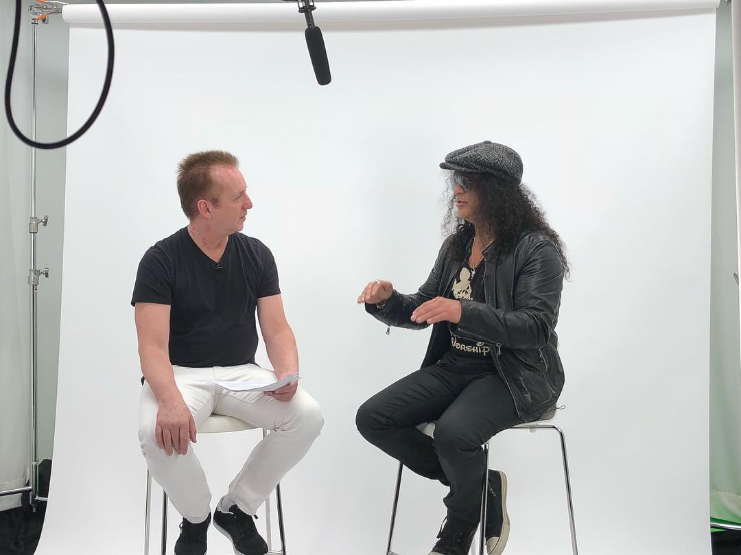 Slash france living the dream promo new york city q104 3