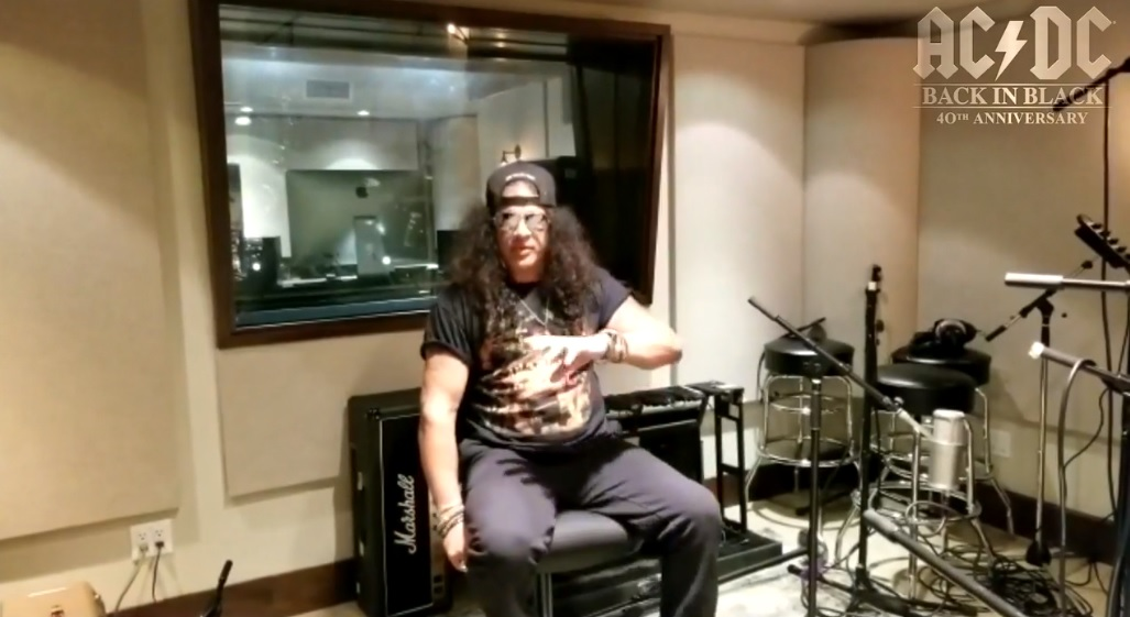 Slash france acdc back in black 40th anniversary gibson event interview 2020