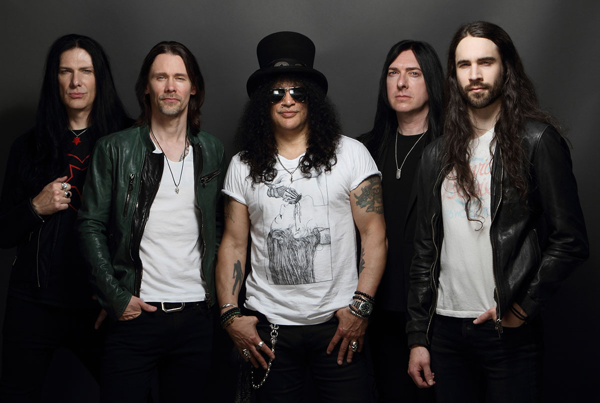 Slash france conspirators living the dream album september gege kirkland