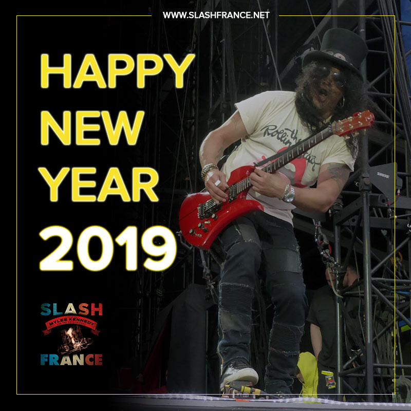 Slash france bonne année 2019 happy new year