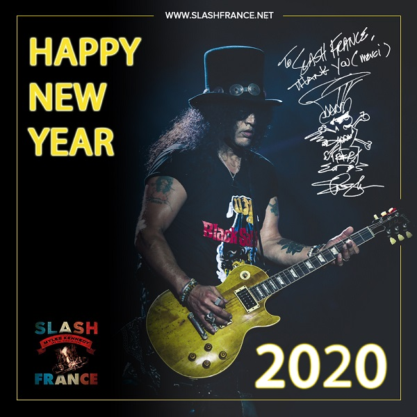 Slash france happy new year 2020