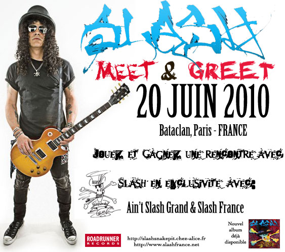 slash meet and greet photoshoot