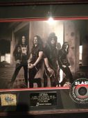 Slash france apocalyptic love disque d'or 2012 nouvelle zelande auckland 7500 ex