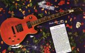 slash france gibson les Paul custom limited 1991