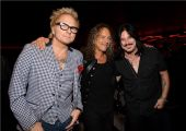 Slash France kirk hammett matt sorum gilby clarkesolo 2014 0512_musicares musicares (13)
