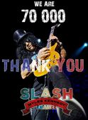 Slash_france 70000fb fans