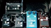 slash france velvet revolver gear 2007 pedalboard