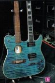 slash france Guild Crossraods double neck Slash custom