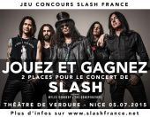 Slash france concours nice slash france 2015 adam concerts theatre de verdure
